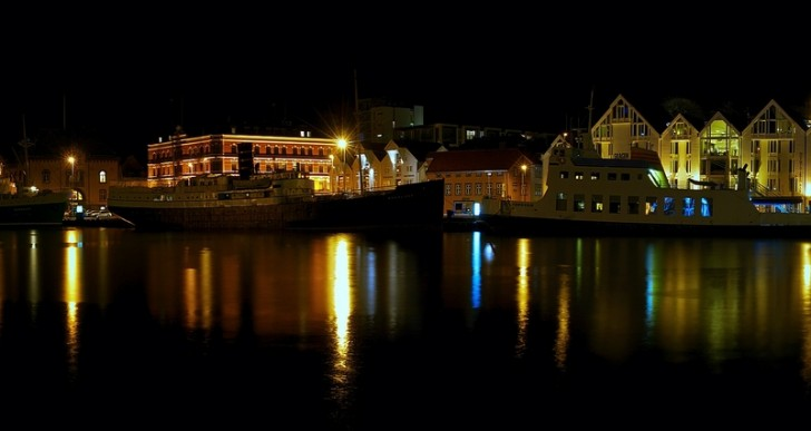 Świetlny most Toruń – Slemmestad