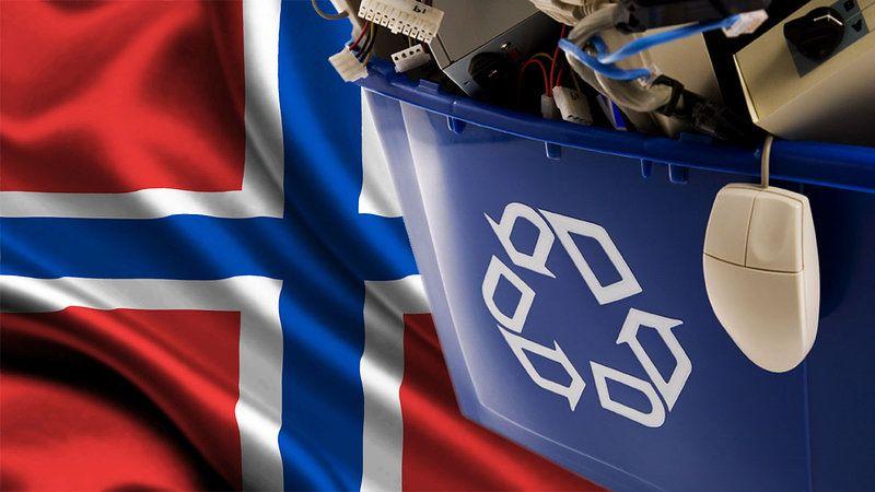 Norweski sposób na elektrośmieci