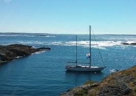 Jacht Polonez odwiedzi Norwegię