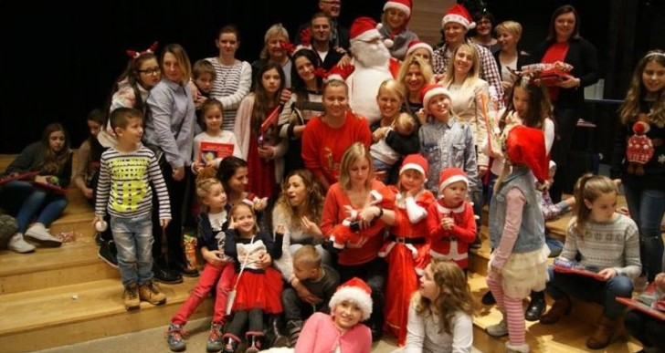 Polska Szkoła we Fredrikstad gościła Świętego Mikołaja
