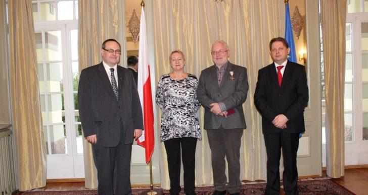 Zbigniew Tyszko odznaczony