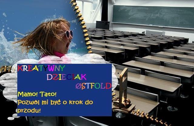 Kreatywny Dzieciak w szkole we Fredrikstad