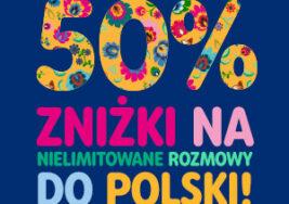 Zniżka na rozmowy do Polski